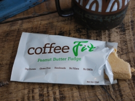 CoffeeFit - Peanut Butter Fudge